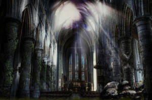 The Dead Cathedral by MetaDragonArt