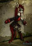 Astrid Cyberpunk Pony