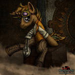 Roger Huston Steampunk Pony