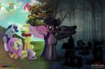 Two Halves of a Twilicorn Princess