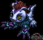 Cyberpunk Gomamon no BG