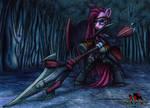 my little monster hunter - Pinkamena