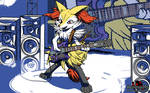 Rock on Like a Fire Fox