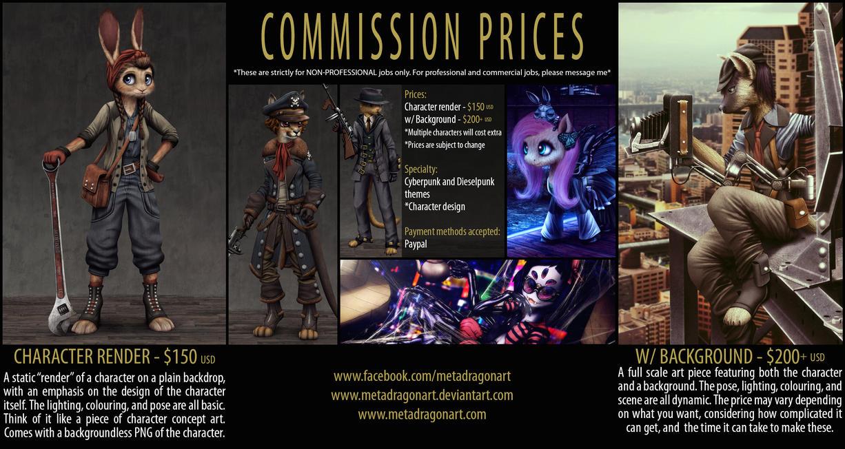 Commission Prices - 2016 version by MetaDragonArt