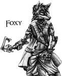 Foxy the Pirate sketch