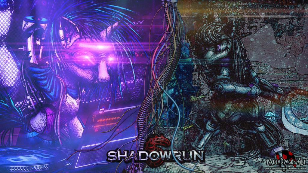 Shadowrun - Musical Mares of Canterlot by MetaDragonArt