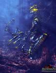 Cyberpunk Disney - Robin Hood