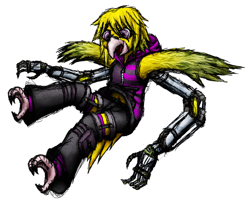 Harvik character sketch 1 by MetaDragonArt