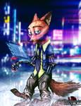 Cyberpunk Nick Wilde