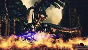 Shane the Cybernetic Dragon by MetaDragonArt