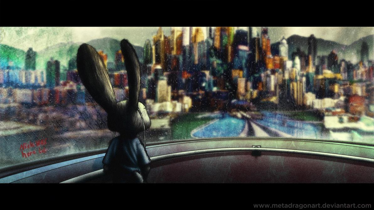 On The Train To Zootopia by MetaDragonArt