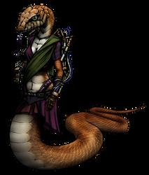 Saavi Manjarekar Render (cyberpunk snake girl)