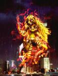 RWBY - cyberpunk furry Yang