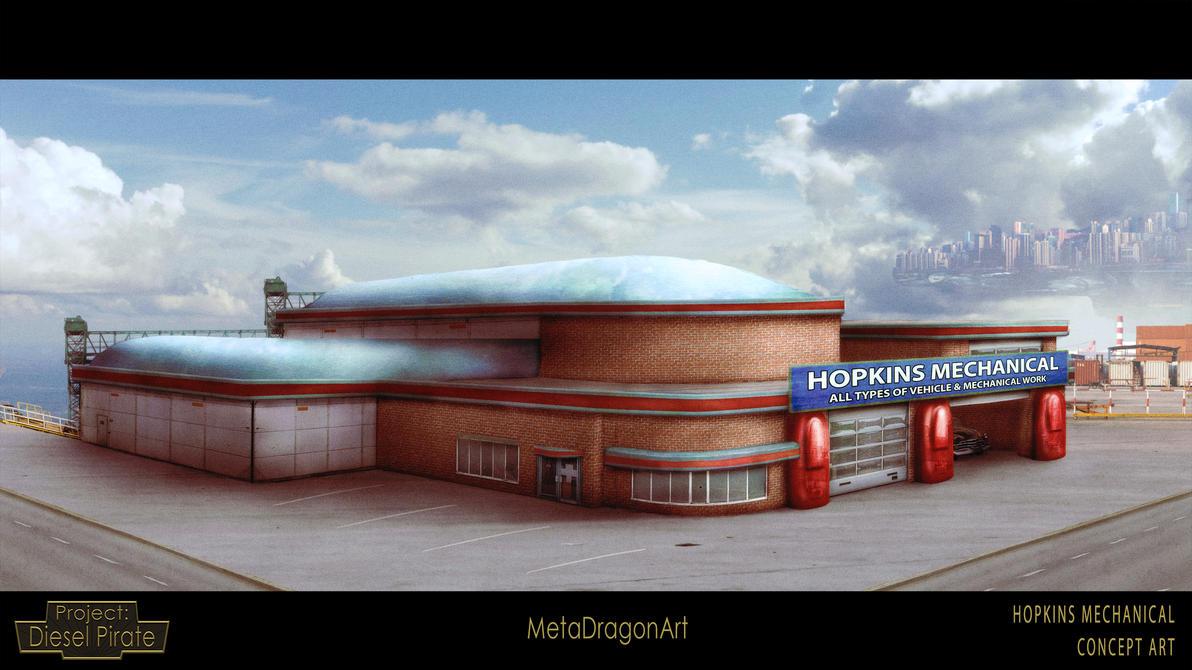 Hopkins Mechanical - Project: Diesel Pirate by MetaDragonArt