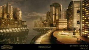 Sky City Miria : Coatsal Inlet - P:DP by MetaDragonArt