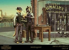 Armature Limbs and Armachists - P:DP by MetaDragonArt