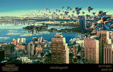 Sky City Miria 1 - P:DP by MetaDragonArt