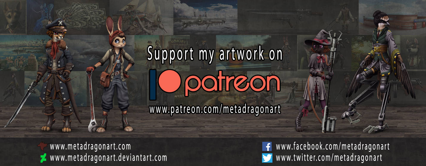 SUPPORT MY ARTWORK ON PATREON!