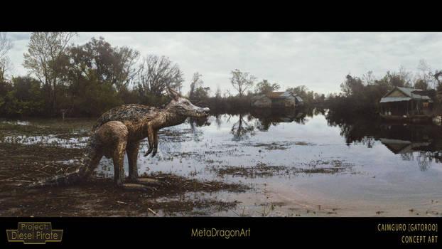 Caimguro (Gatoroo) - Project: Diesel Pirate