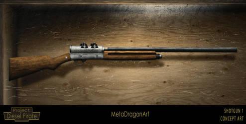 Shotgun concept 1 - Project: Diesel Pirate