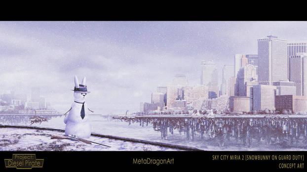 Sky City Miria 2 (Snowbunny On Guard Duty)