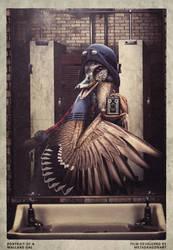 Portrait of a Mallard Gal by MetaDragonArt