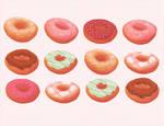 Doughnuts by HybridTea