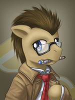 Doctor Whooves potrait
