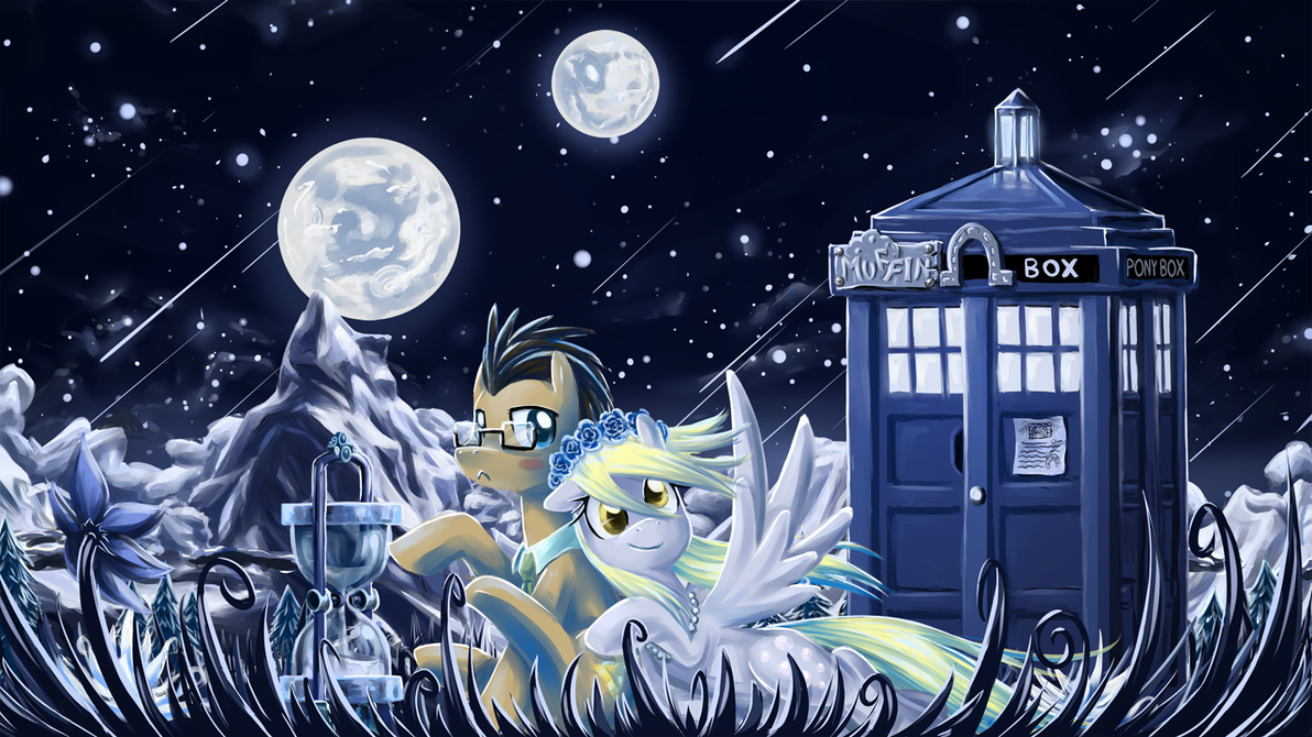 TARDIS Blue by saturnspace