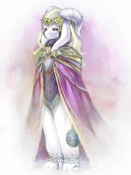 King Asriel by saturnspace