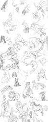 Massive Sketch Dump by AngelSin-t
