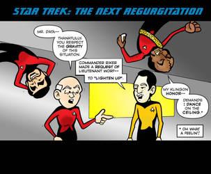 Star Trek: The Next Regurgitation by Dylanio21