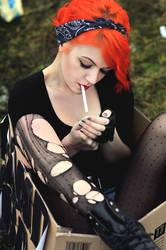 one last cigarette by zenibyfajnie