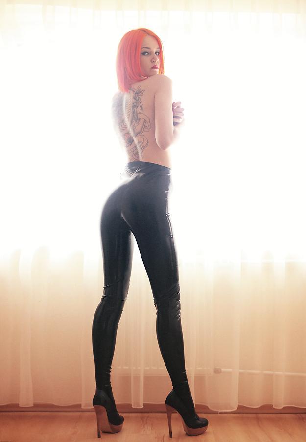 sexiga leggings super dildo
