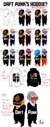 Daft Punk's Hoodie by codeart