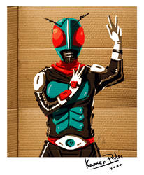 Kamen Rider Autograph OMG by codeart