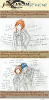 Fire Emblem Awakening Art Meme by Runforthestairs