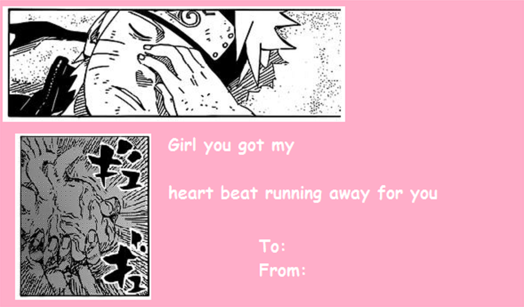 Naruto Valentine Card by MegaAnimeFreak7