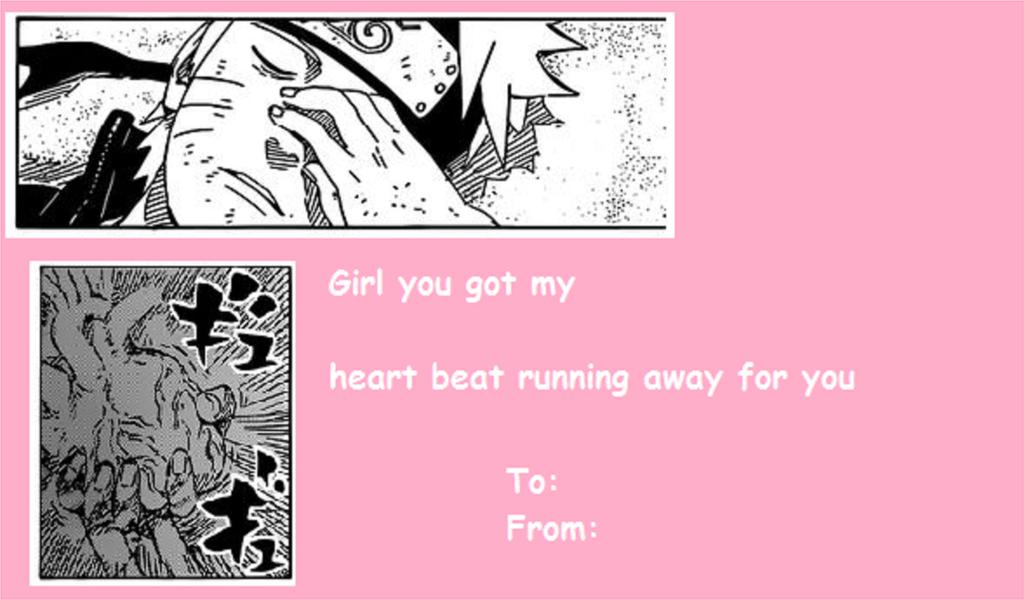 Naruto Valentine Card by MegaAnimeFreak7