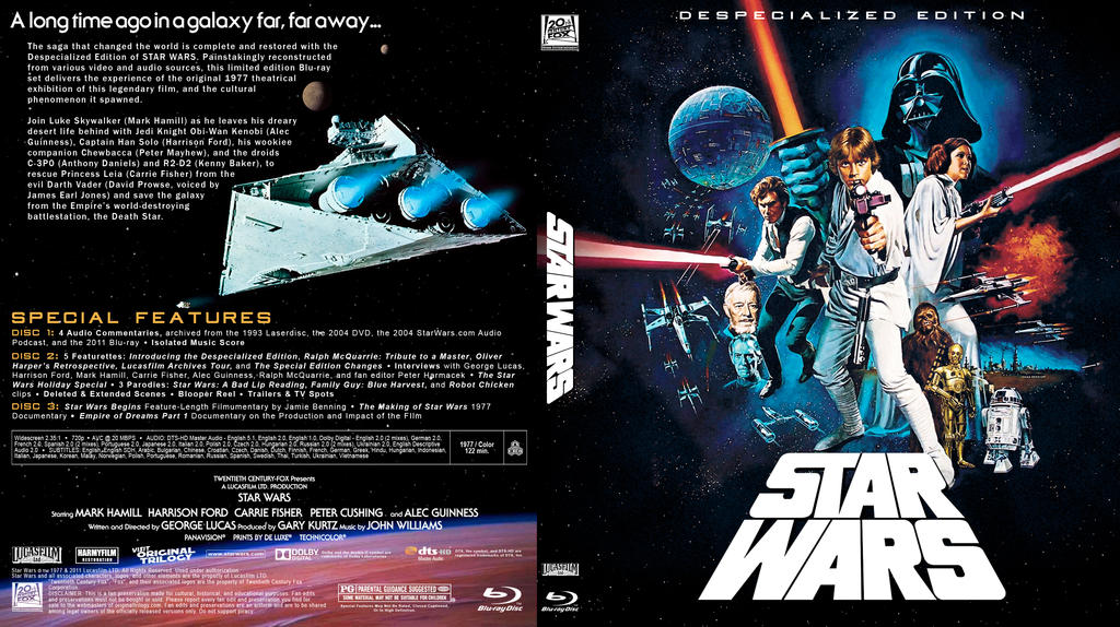 Star Wars Despecialized Blu-ray by TemporalProductions on DeviantArt