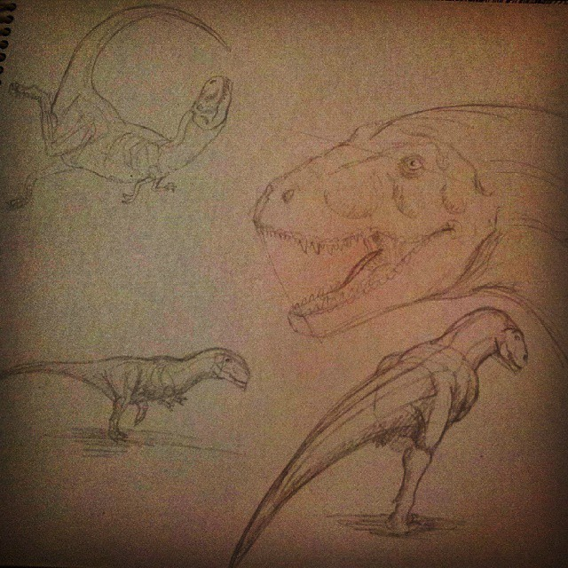 Theropoda Concepts by MadHatterMuscaria