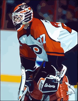 Ron Hextall by Oultre