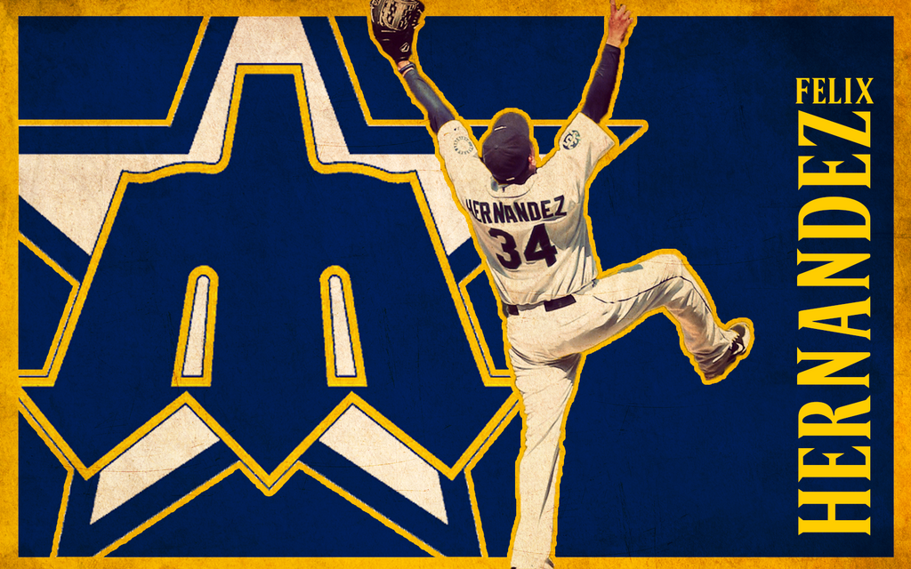 Felix Hernandez Wallpaper by Oultre