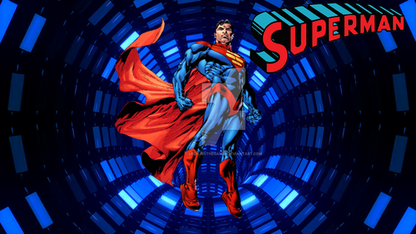 SuperMan by Leonjr4TheGamer