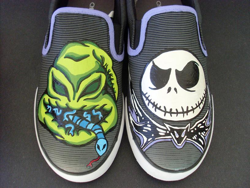 The Nightmare Before Christmas Jack Oogie Shoes by rachelliles352 ...
