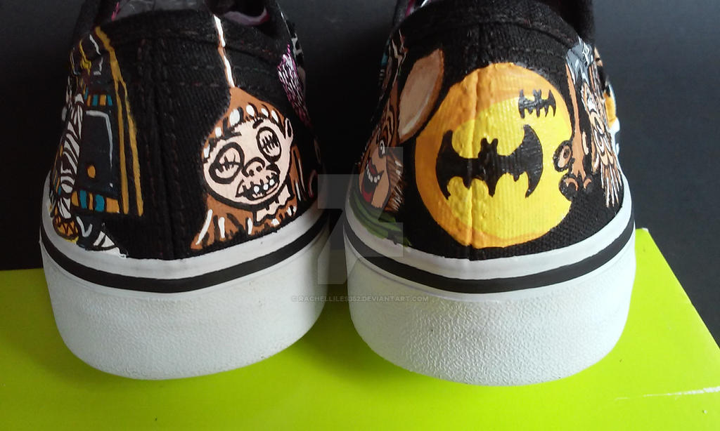 Hotel Transylvania Child shoes by rachelliles352
