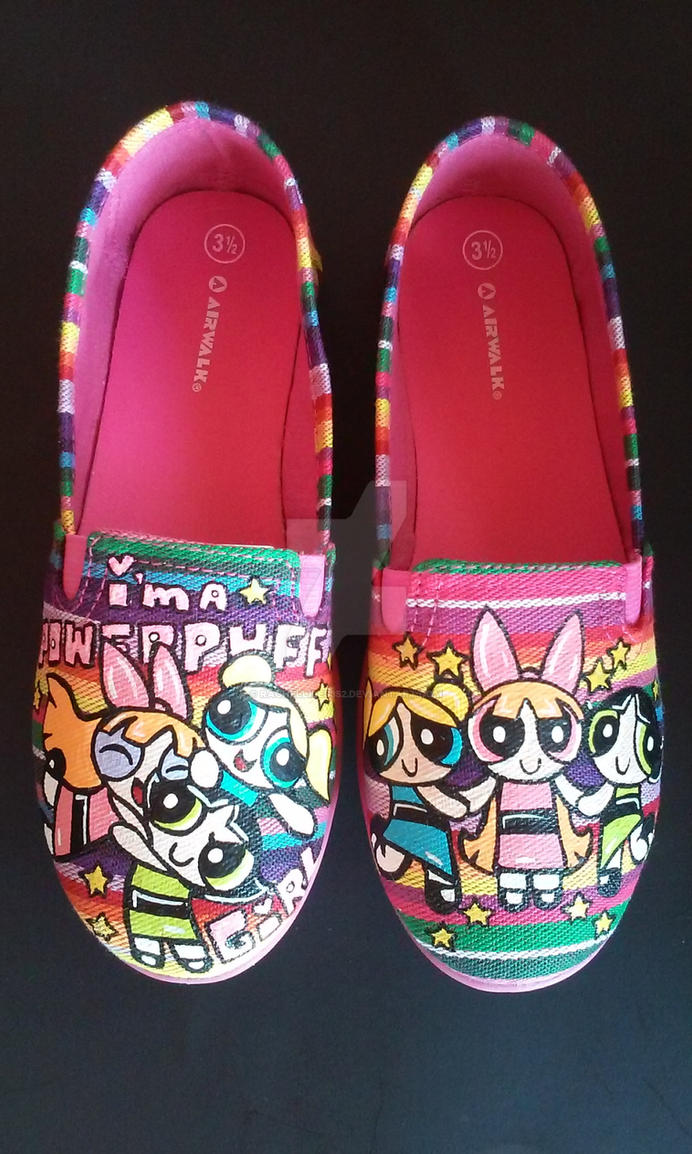 8928c304e11c2 Custom Powerpuff Girls Shoes Blossom Bubbles Butte by rachelliles352 ...