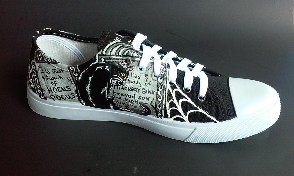 Custom Handpainted Disney Hocus Pocus Shoes by rachelliles352