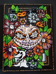 Jack Skellington Sugar Skull Frame