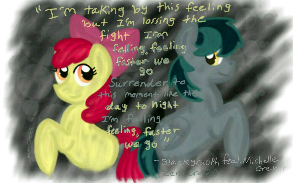 Zero Gravity ( with lyrics ) by MLPAristiscCSketch on DeviantArt